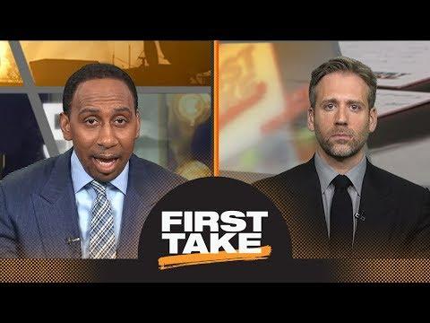 Should LeBron James go to the Rockets next season? | First Take | ESPN