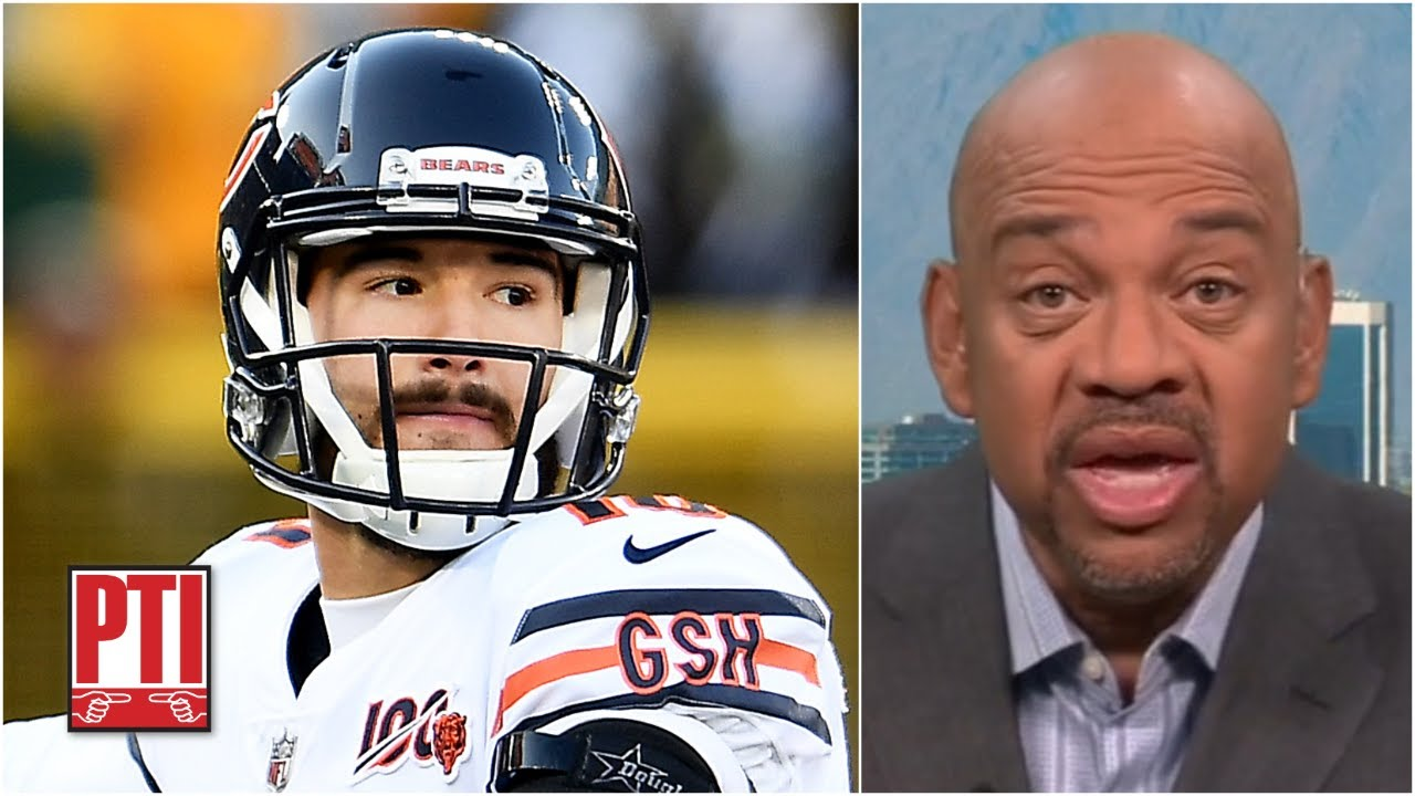 Mitch Trubisky has no shot of starting for the Bears this season - Michael Wilbon | PTI