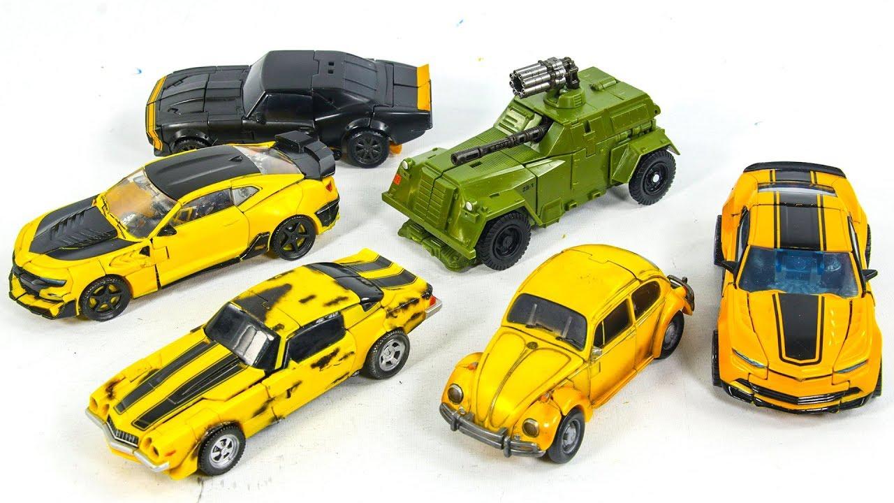 Transformers Movie 1 4 5 High Octane World War 2 VW Deluxe Bumblebee  Vehicles Car Robots Toys