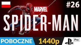 SPIDER-MAN PL (PS4 / 2018) ???? LIVE ???? Nadal w kierunku 100% :) - Na żywo