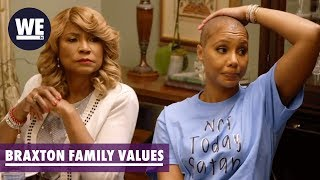 Iyanla Walks Out on the Braxtons | Braxton Family Values | WE tv