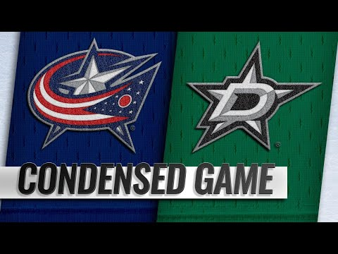 11/12/18 Condensed Game: Blue Jackets @ Stars