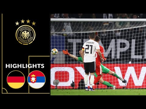Goretzka saves draw in first match of 2019 | Germany vs. Serbia 1-1 | Highlights | Friendly