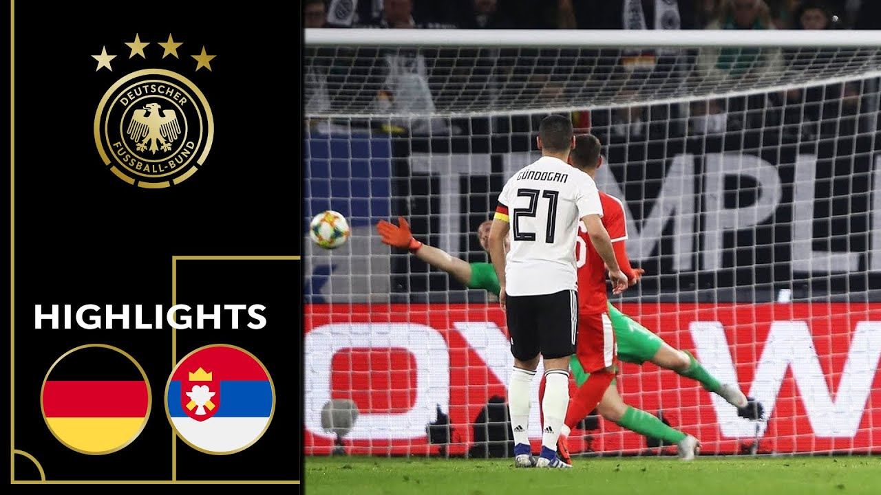 Download Goretzka saves draw in first match of 2019 | Germany vs. Serbia 1-1 | Highlights | Friendly