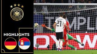 Germany vs. Serbia 1-1 | Highlights | Friendly