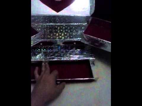 Manualidades organizador con caja de zapatos youtube - Manualidades con cajas de zapatos ...