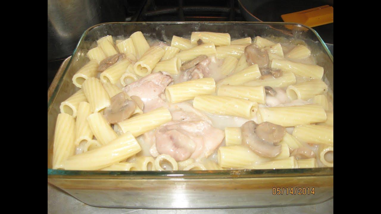 Cream of mushroom pasta recipes
