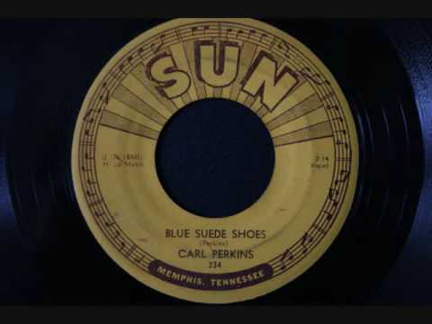 Carl Perkins Blue Suede Shoes Youtube