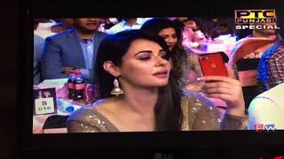 PTC Punjabi Film Awards 2018 || Neeru Bajwa | Rubina Bajwa | Performing together on Stage||