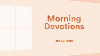 "Morning Devotion: Heart of Wisdom  — ""Let's talk about contentment'"