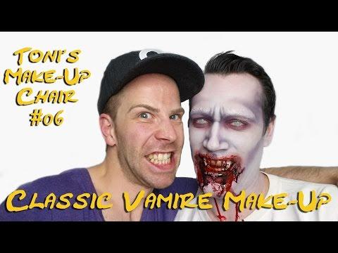 CLASSIC VAMPIRE LOOK   1930s inspired   True Blood   Halloween MakeUp Tutorial NEW 2014