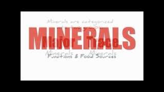 Minerals - Sulfur, Selenium and Weight Loss