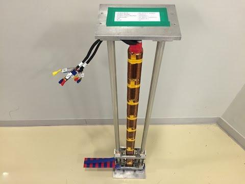 Vertical Electromagnetic Hoist