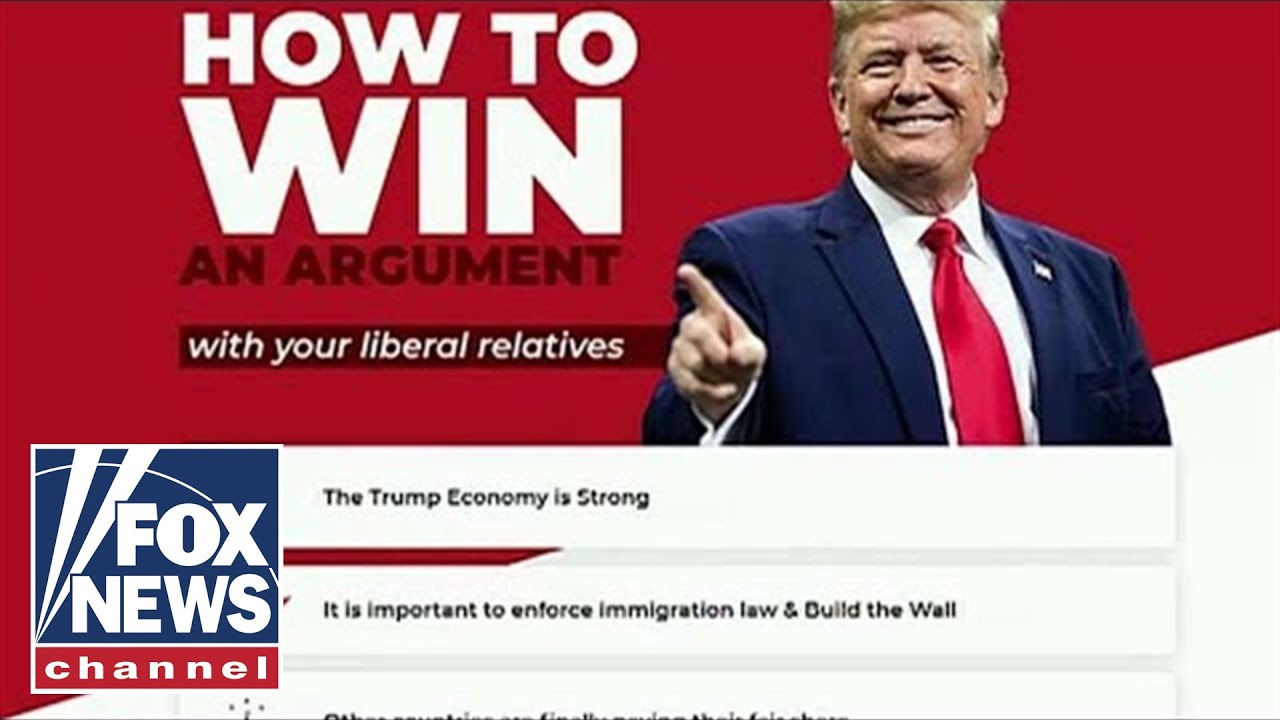 Trump campaign launches website to help supporters win arguments with liberal relatives - FOX News