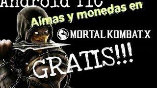 Mortal Kombat X Monedas y Almas Infinitas (MAYO 2016) Funcionando