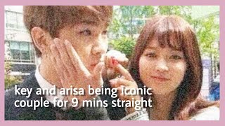 Funny Moments: KEY ARISA COUPLE (We Got Married) Sundae Couple SHINee Key & Yagi Arisa