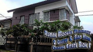 Rumah Anggun Modern Dan Minimalis 2 Lantai Di Cinere Estate Dekat South City