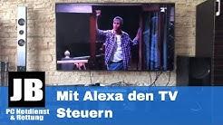 Wie kann ich mit Alexa (Amazon Echo) meinen TV / Fernseher Steuern? Der neue Harmony Skill ist da