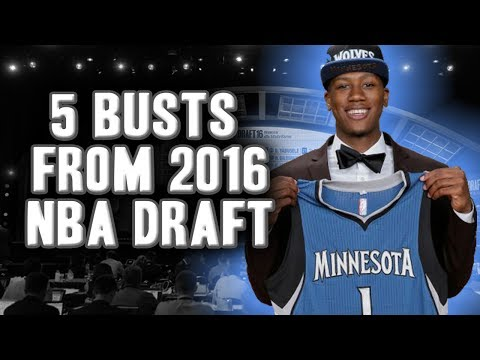 5 Draft Busts From The 2016 NBA Draft As Of Today