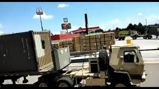 Whats In The Containers? Military On The Move On I-81 In Tennessee