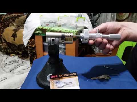 Взлом отмычками AGB SCUDO 5000  AGB SCUDO 5000 --7pin (AGB SCUDO 5000 --7pin)