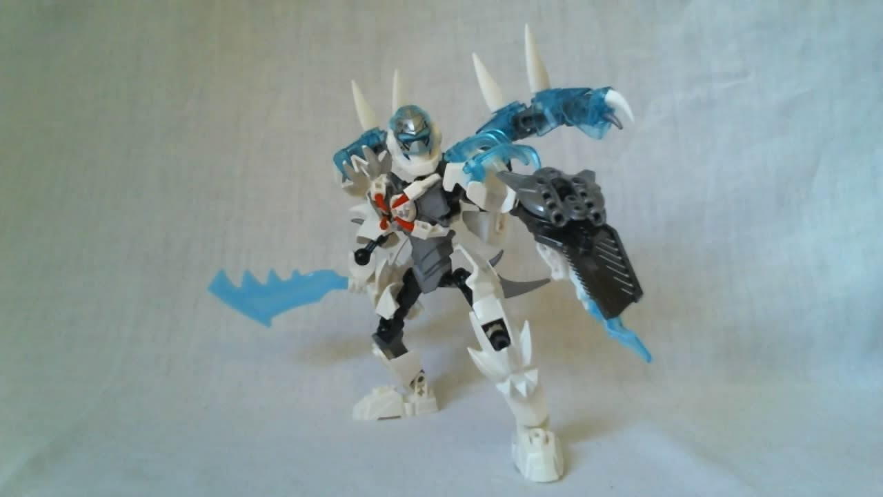 Lego Hero Factory Video Review Combo Stormer Frost Beast