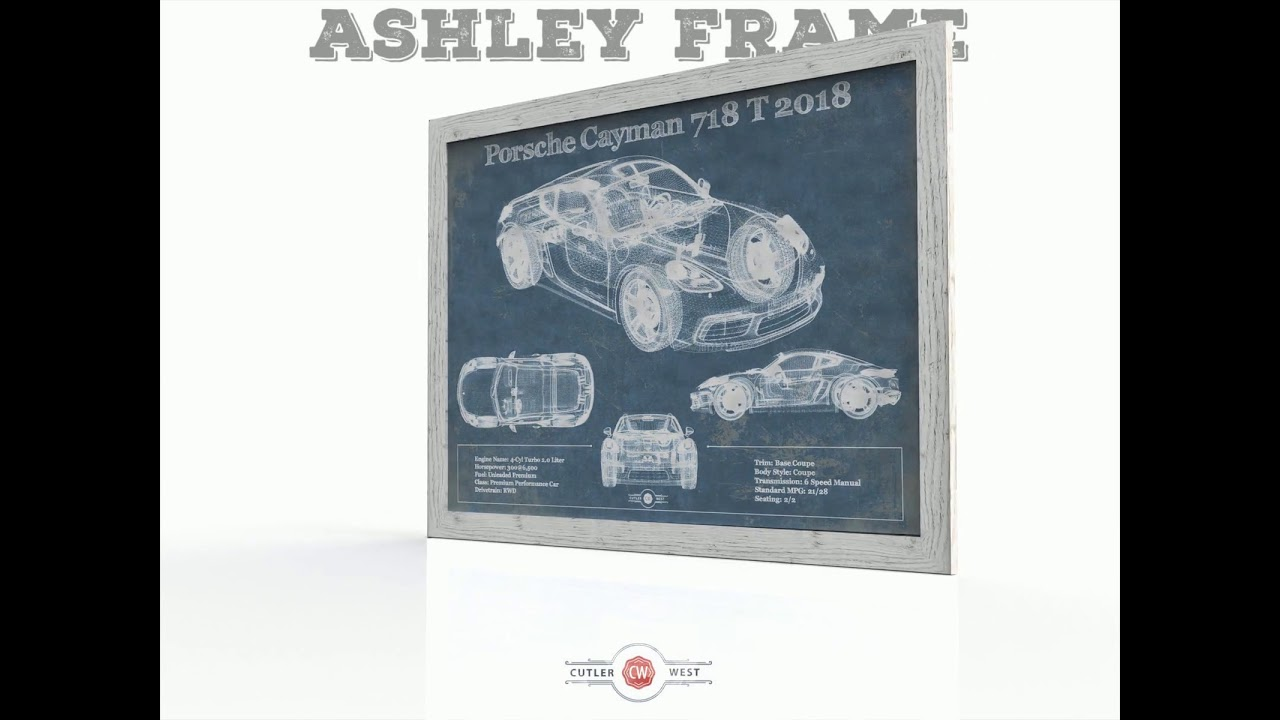 Cutler West Art Frames - Ashley, Greyson, and Stretched Canvas Gallery Wrap