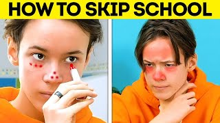 TOO COOL FOR SCHOOL || Funny School Tricks, Prank Ideas And DIY Crafts You'll Be Grateful For screenshot 5