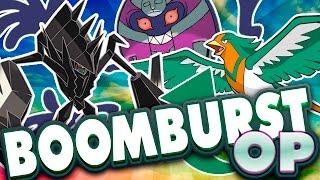 BOOMBURST IS OP!! RU Beta Pokemon Showdown Live   Pokemon Sun and Moon