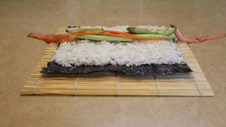 How to make sushi - time lapse