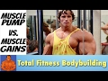 The Pump - How Getting A Muscle Pump Affects Muscle Gains