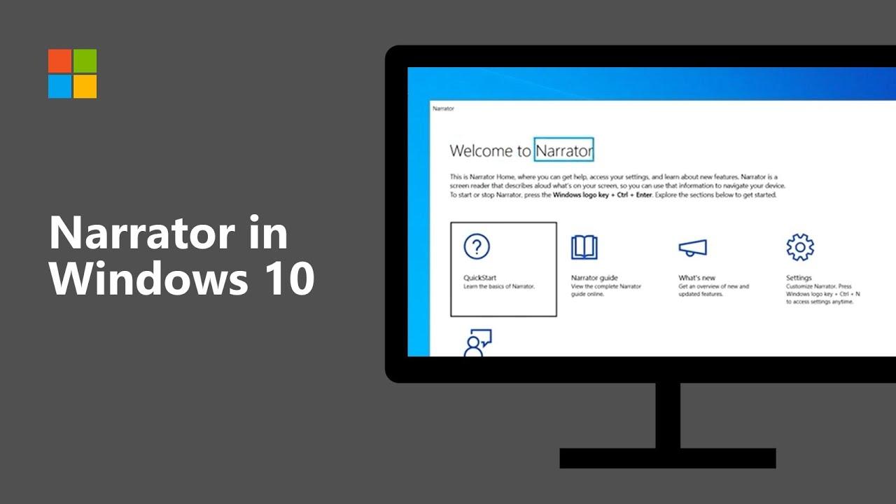 Panduan Narrator Windows 10 untuk Pemula