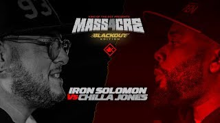 KOTD - Iron Solomon vs Chilla Jones | #MASS4
