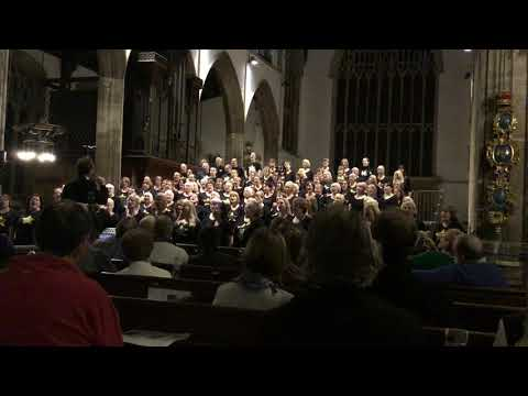 West Norfolk Rock Choir sing Hallelujah at St Nicholas Chapel, King's Lynn