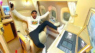 THE NEW $70,000 EMIRATES FIRST CLASS *PRIVATE ROOM* !!!