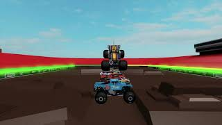 Roblox Monster Jam 10 Truck Jump With Max-D!!