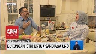 Dukungan Istri Untuk Sandiaga Uno