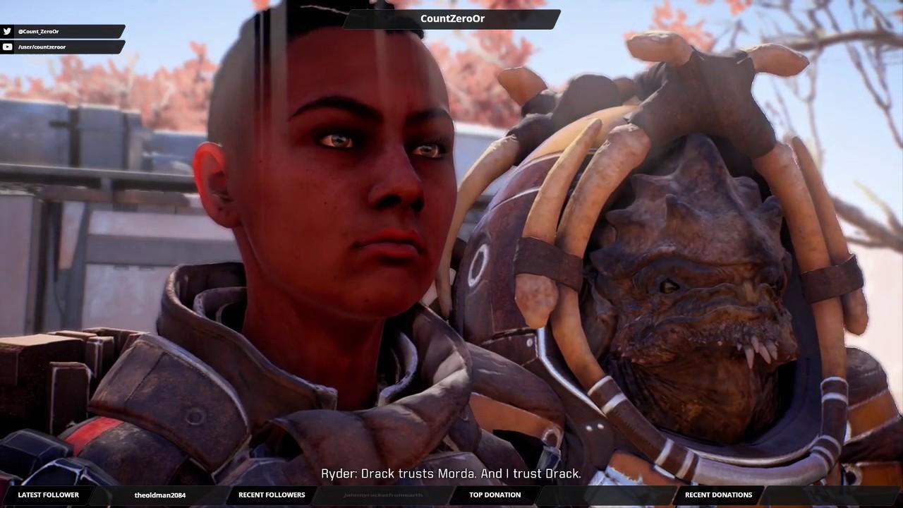 Let's Play Mass Effect Andromeda: Part 73 - Treating Cryo Sickness