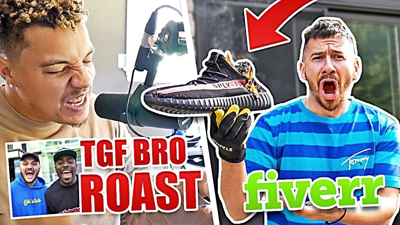 fans-paid-us-5-to-do-random-things-on-fiverr-tgf-bro-roast-and-burning-yeezys