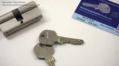 Schließzylinder Basi K6 RT - aktives Kopierschutz Element im Schlüssel!
