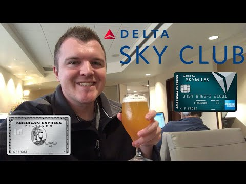 Delta Sky Club Lounge Tour @ MKE Airport