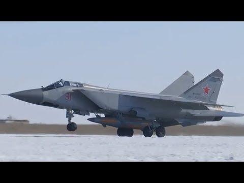MiG-31K lansirao hipersoničnu raketu Kinžal - MiG-31 launches Kinzhal hypersonic missile