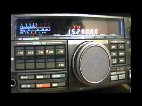 NHK World Radio Japan (relay Issoudun, France) in japanese - 15290 kHz