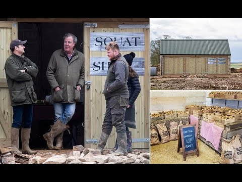Jeremy Clarkson must rip off roof of his Diddly Squat farm shop after clashing with planners