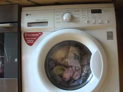 инструкция к стиральной машине lg f1068ld