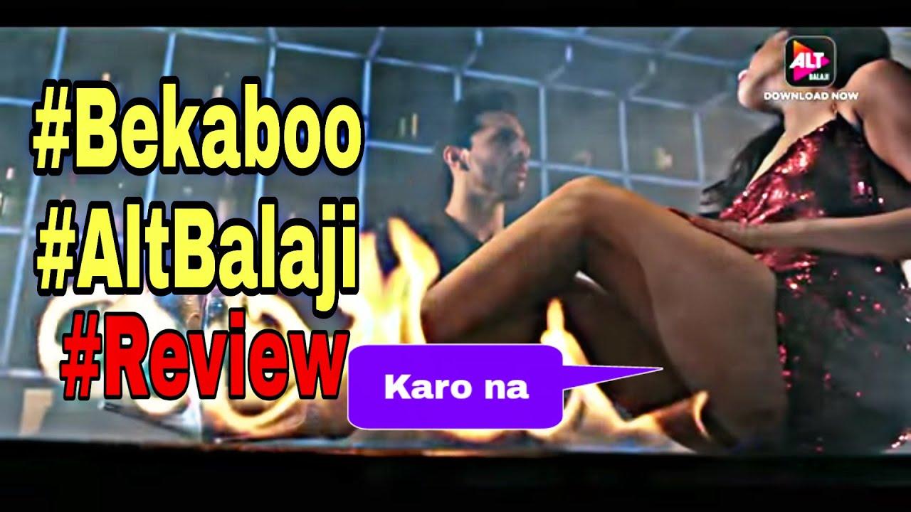Download #Bekaboo #AltBalaji Hot and Thriller WebSeries  Web series jo Pani Nikal De