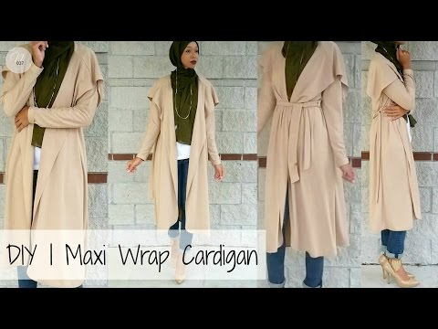 Nadira037 | DIY | How to Make a Cardigan | PATTERN INCLUDED