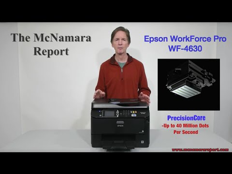 Epson WorkForce Pro WF-4630 Four-in-One Printer Review