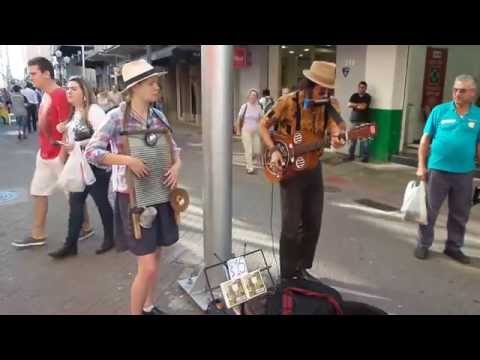 Sandino Cerrado Blues e Georgia Ollier - Washboard
