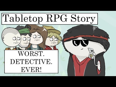 Tabletop RPG Story: The WORST Detective In The World! From Dresden Files RPG